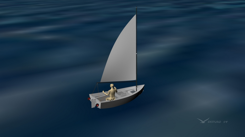 day sailboat dinghy